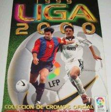Coleccionismo deportivo: ALBUM DE CROMOS FUTBOL LIGA 1999 2000 - EDICIONES ESTE - CONTIENE 23 FICHAJE PERO LE FALTAN 49 CROMO. Lote 38264538