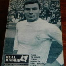 Coleccionismo deportivo: REVISTA DEL REAL MADRID Nº 174 - NOVIEMBRE 1964 - 32 PAGINAS - MIDE 31 X 22 CMS. EXCELENTE ESTADO DE. Lote 38283260