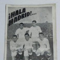 Coleccionismo deportivo: ANTIGUO Y RARISIMO SEMANARIO DEPORTIVO MADRIDISTA, REAL MADRID, FUTBOL - ¡HALA MADRID! NUM. 40 - AÑO. Lote 38283386
