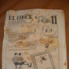 Coleccionismo deportivo: REVISTA EL ONCE Nº 460, 2-11-1953 CLUB DE FUTBOL BARCELONA.. Lote 40331317