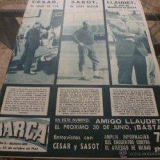 Coleccionismo deportivo: REVISTA BARÇA Nº:466(22-10-64)-BARÇA 4 ATH.BILBAO 0-FOTOS. Lote 40417956