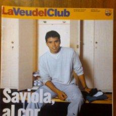 Coleccionismo deportivo: COLECCIONISTA BARÇA - REVISTA FC BARCELONA - LA VEU DEL CLUB - NUM. 20 SETEMBRE 2001. Lote 40565753