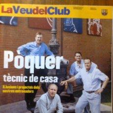 Coleccionismo deportivo: COLECCIONISTA BARÇA - REVISTA FC BARCELONA - LA VEU DEL CLUB - NUM. 21 OCTUBRE 2001 - ESTATUTS. Lote 40601326