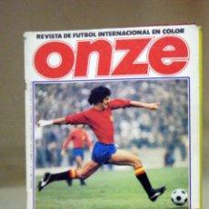 Coleccionismo deportivo: REVISTA DE FUTBOL, ONZE, Nº 1, MUNDIAL ARGENTINA 1978, SIN POSTER. Lote 40659113