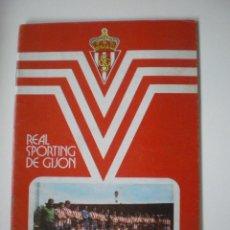 Coleccionismo deportivo: REAL SPORTING DE GIJÓN - MEMORIA TEMPORADA 1976/1977. Lote 40946566