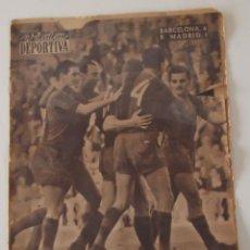 Coleccionismo deportivo: DIARIO VIDA DEPORTIVA 20 MAYO 1957 RESULTADO PARTIDO: F.C. BARCELONA 6 - REAL MADRID 1 .- BARÇA. Lote 41000238