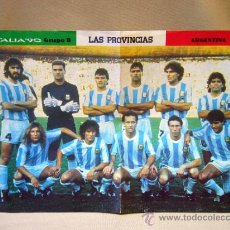Coleccionismo deportivo: POSTER, ITALIA 90, 4 POSTERS, ARGENTINA, RUMANIA, CAMERUN, U.R.R.S., 40 X 29 CM. Lote 41003880