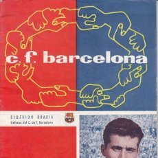 Coleccionismo deportivo: REVISTA CLUB DE FUTBOL BARCELONA - BARÇA - SIFRIDO GRACIA - Nº 110 NOVIEMBRE 1957. Lote 41049986
