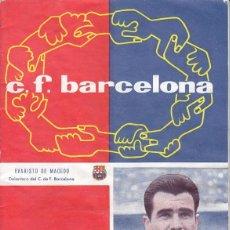 Coleccionismo deportivo: REVISTA CLUB DE FUTBOL BARCELONA - BARÇA - EVARISTO DE MACEDO - Nº 117 FEBRERO DE 1959. Lote 41049785