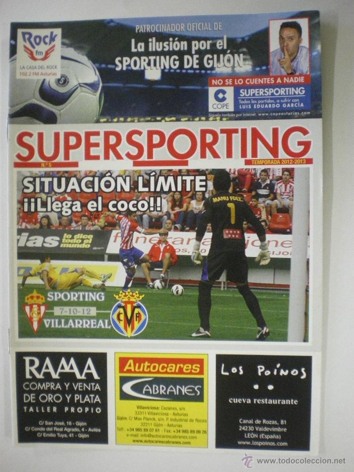 Real sporting de gijón - villarreal c f  - revi - Sold
