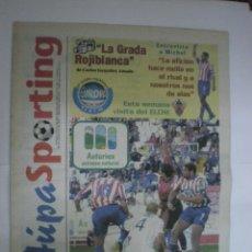 Real Sporting de Gijón - Elche C.F. - Periódico oficial Aúpa Sporting - Nº 3 - 29/09/2001