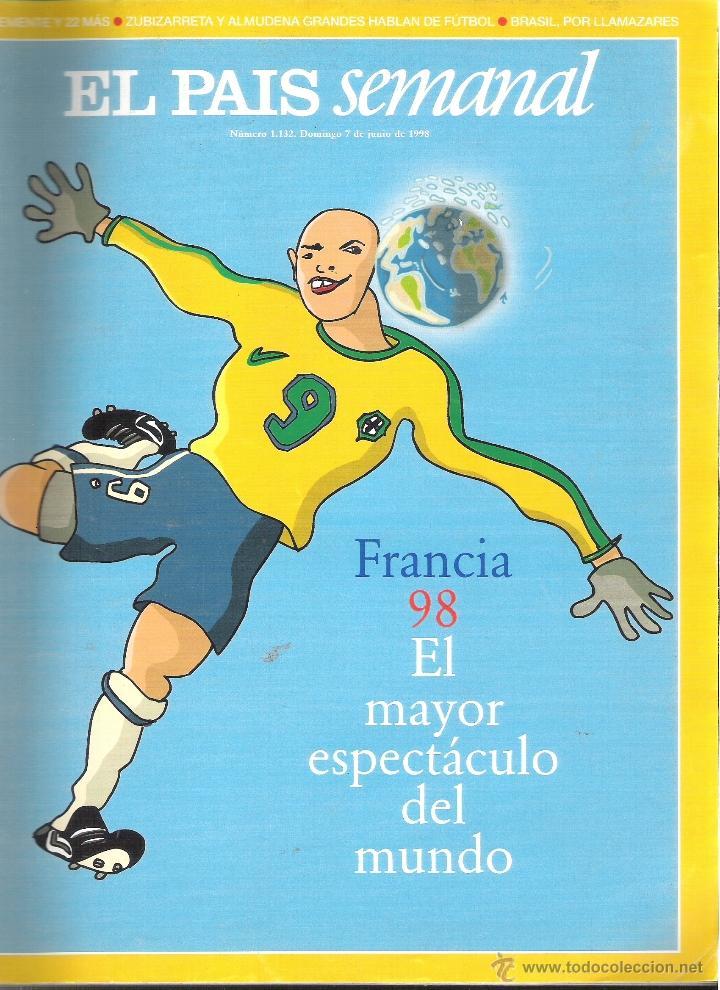 ESPECIAL MUNDIAL FUTBOL FRANCIA 1998 ( 98 ) - EL MAYOR ESPECTACULO DEL MUNDO (Coleccionismo Deportivo - Revistas y Periódicos - otros Fútbol)