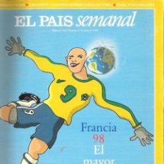 Coleccionismo deportivo: ESPECIAL MUNDIAL FUTBOL FRANCIA 1998 ( 98 ) - EL MAYOR ESPECTACULO DEL MUNDO. Lote 41410755