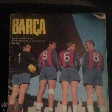 Revista Barça numero 631. 20 de diciembre 1967, Extraordinario Navidad