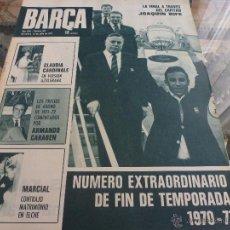 Coleccionismo deportivo - (DGR)-BARÇA Nº:817(13-7-71)-EXTRA COPA FIN DE TEMPORADA 70-71-FOTOS - 41860759