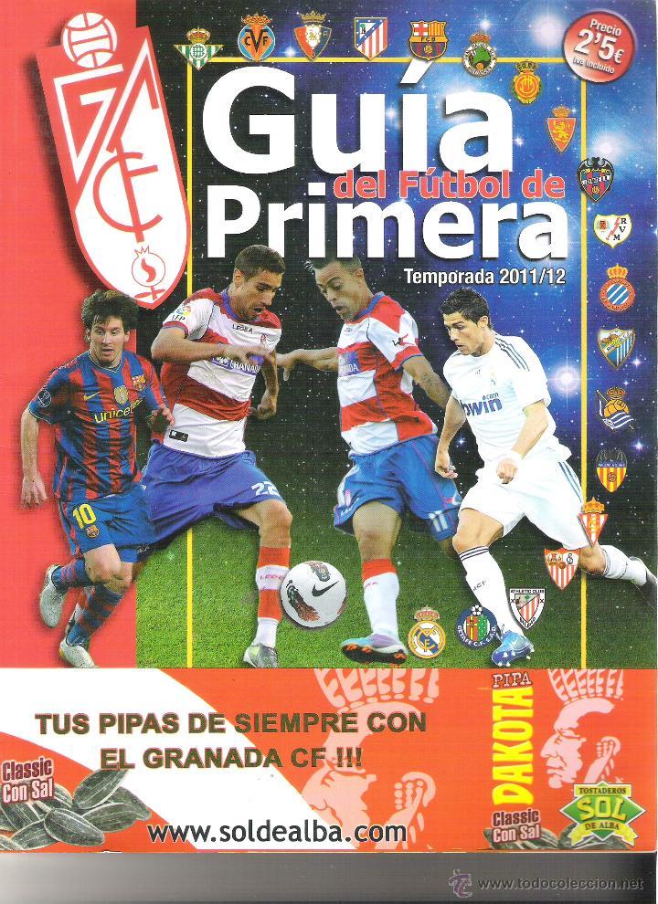 GUIA DE FUTBOL TEMPORADA 2011-2012 ( 11-12 ) - TODOS LOS EQUIPOS, VILLARREAL MADRID ETC (Coleccionismo Deportivo - Revistas y Periódicos - otros Fútbol)