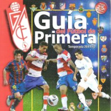 Coleccionismo deportivo: GUIA DE FUTBOL TEMPORADA 2011-2012 ( 11-12 ) - TODOS LOS EQUIPOS, VILLARREAL MADRID ETC. Lote 42002244
