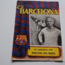 Coleccionismo deportivo: BOLETIN OFICIAL C.F.BARCELONA 1950. Lote 42006929