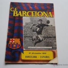 Coleccionismo deportivo: BOLETIN OFICIAL C.F.BARCELONA 1950. Lote 42007198