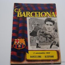 Coleccionismo deportivo: BOLETIN OFICIAL C.F.BARCELONA 1950. Lote 42007521