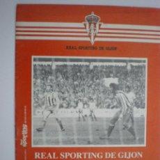 Coleccionismo deportivo: REAL SPORTING DE GIJÓN-REAL VALLADOLID-REVISTA OFICIAL REAL SPORTING DE GIJÓN-Nº 110-03/01/1982. Lote 42052394