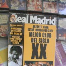 Coleccionismo deportivo: REVISTA REAL MADRID Nº 119 - ENERO 2000. Lote 42058178