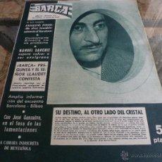 Coleccionismo deportivo: REVISTA BARÇA Nº:373(17-1-63) BARÇA 0 ATH.BILBAO 0-FOTOS. Lote 42286460