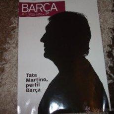Coleccionismo deportivo: REVISTA OFICIAL FC BARCELONA - Nº 65 - TATA MARTINO - 66 PAG.. Lote 42357739