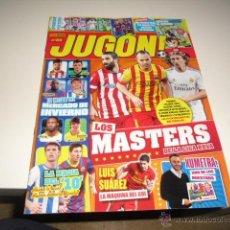 Collectionnisme sportif: REVISTA JUGON Nº 89 LOS MASTERS DE LA LIGA BBVA. Lote 42374236