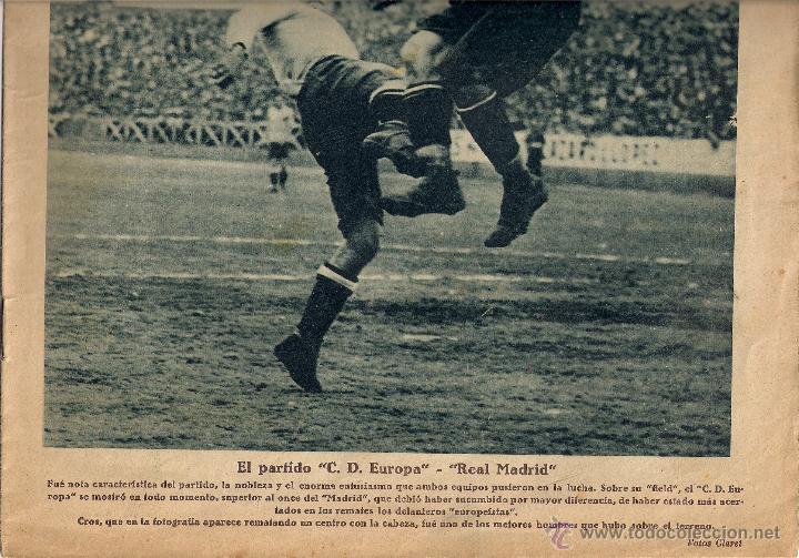 Coleccionismo deportivo: PARTE INFERIOR PORTADA - Foto 2 - 283328458