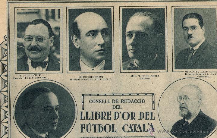 Coleccionismo deportivo: PUBLI DEL LLIBRE D`OR DEL FÚTBOL CATALÀ - Foto 4 - 283328458