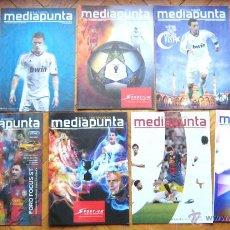 Coleccionismo deportivo: 9 REVISTAS PROGRAMAS PROGRAMS 12-13 REAL MADRID, FC BARCELONA, ESPAÑA, COPA REY . Lote 42770012