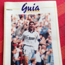 Coleccionismo deportivo: REVISTA PROGRAMA OFICIAL REAL MADRID VALENCIA 1998 1999. Lote 42917173