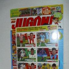 Coleccionismo deportivo: REVISTA JUGON Nº91 SIN ABRIR , INCLUYE ULTIMA LAMINA MERCADO INVIERNO EDICIONES ESTE 2013 2014. Lote 43039798