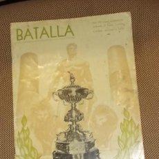 Coleccionismo deportivo: BATALLA. Nº EXTRAORDINARIO VIII TROFEO RAMON DE CARRANZA. RIVER PLATE, BARCELONA, PEÑAROL, ATLETICO. Lote 43068439