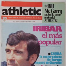 Collectionnisme sportif: REVISTA FUTBOL INFORMACION DE ATHLETIC DE BILBAO AÑO 1976 Nº 59 RESERVADO M******R. Lote 43103719