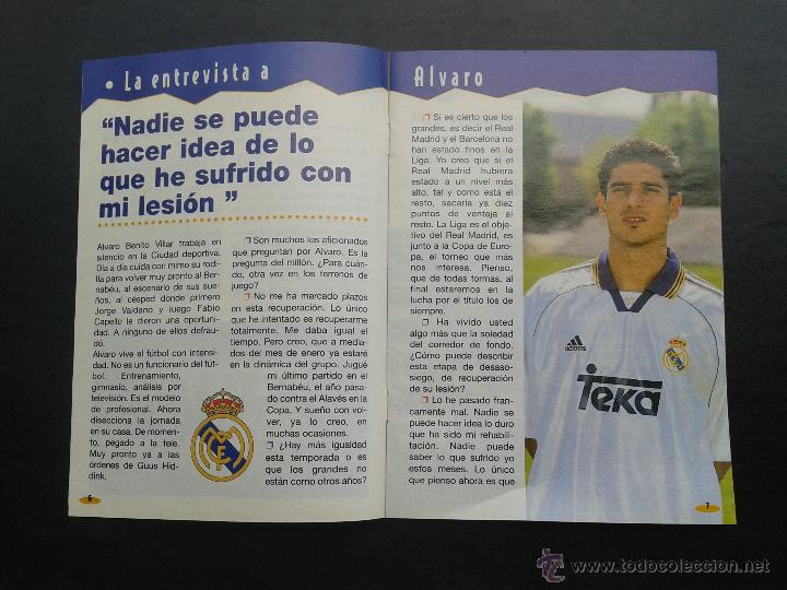 Coleccionismo deportivo: COLD - PROGRAMA OFICIAL MIERCOLES 6 DE ENERO 1999 **REAL MADRID C.F. - U.D.SALAMANCA - Foto 3 - 43236042