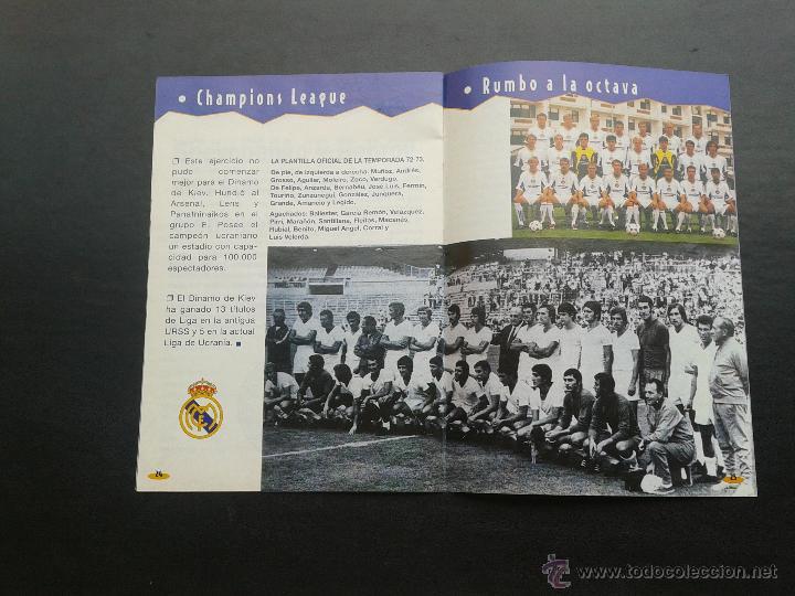 Coleccionismo deportivo: COLD - PROGRAMA OFICIAL MIERCOLES 6 DE ENERO 1999 **REAL MADRID C.F. - U.D.SALAMANCA - Foto 5 - 43236042