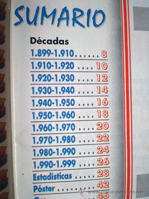 Coleccionismo deportivo: Revista don balón. Nº 45 Edición Especial CENTENARIO F.C. Barcelona 1899-1999 - Foto 7 - 43494571