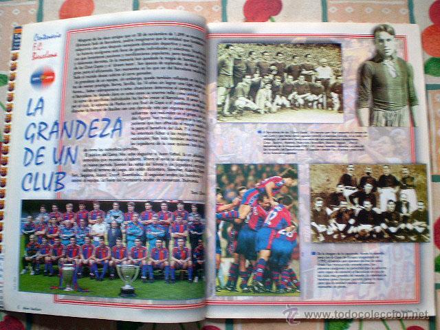 Coleccionismo deportivo: Revista don balón. Nº 45 Edición Especial CENTENARIO F.C. Barcelona 1899-1999 - Foto 9 - 43494571