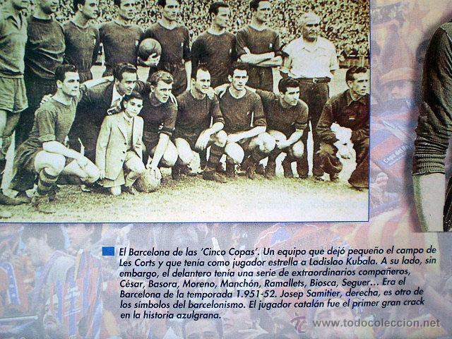 Coleccionismo deportivo: Revista don balón. Nº 45 Edición Especial CENTENARIO F.C. Barcelona 1899-1999 - Foto 10 - 43494571