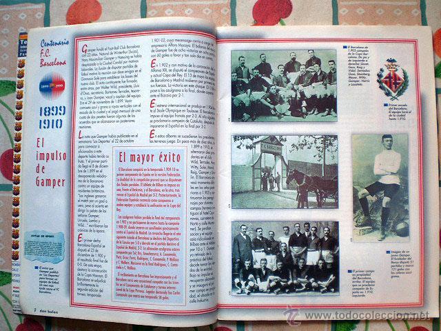 Coleccionismo deportivo: Revista don balón. Nº 45 Edición Especial CENTENARIO F.C. Barcelona 1899-1999 - Foto 11 - 43494571