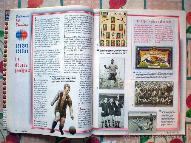 Coleccionismo deportivo: Revista don balón. Nº 45 Edición Especial CENTENARIO F.C. Barcelona 1899-1999 - Foto 12 - 43494571