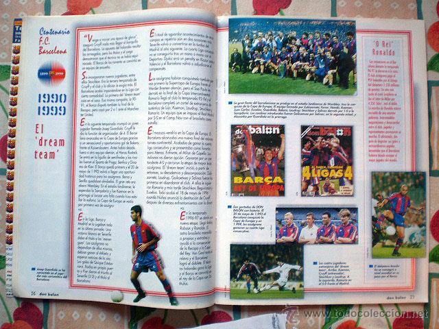Coleccionismo deportivo: Revista don balón. Nº 45 Edición Especial CENTENARIO F.C. Barcelona 1899-1999 - Foto 13 - 43494571
