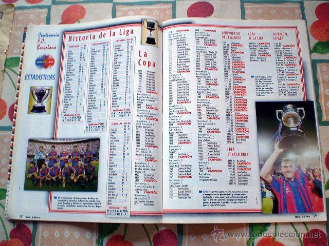 Coleccionismo deportivo: Revista don balón. Nº 45 Edición Especial CENTENARIO F.C. Barcelona 1899-1999 - Foto 14 - 43494571