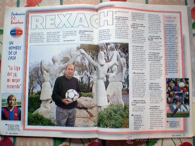 Coleccionismo deportivo: Revista don balón. Nº 45 Edición Especial CENTENARIO F.C. Barcelona 1899-1999 - Foto 16 - 43494571