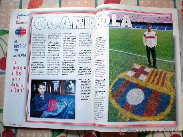 Coleccionismo deportivo: Revista don balón. Nº 45 Edición Especial CENTENARIO F.C. Barcelona 1899-1999 - Foto 17 - 43494571