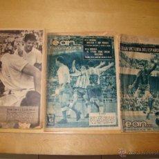 Lote de periódicos deportivos LEAN... y ABC, año 1964