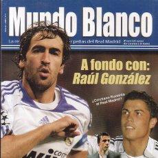 Coleccionismo deportivo: MUNDO BLANCONº 1 FEBRERO 2008 - A FONDO CON RAUL GONZALEZ. Lote 244794320