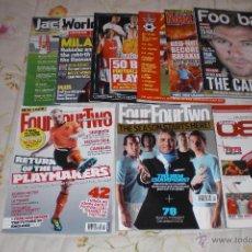 Coleccionismo deportivo: LOTE 9 REVISTAS INGLESAS (VER RELACIÓN). . Lote 43897151